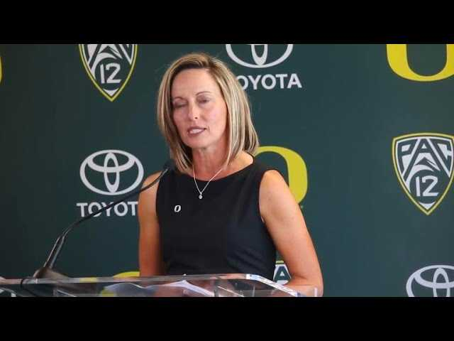 Lombardi talks about her experience at Oklahoma and how that will transfer over at Oregon