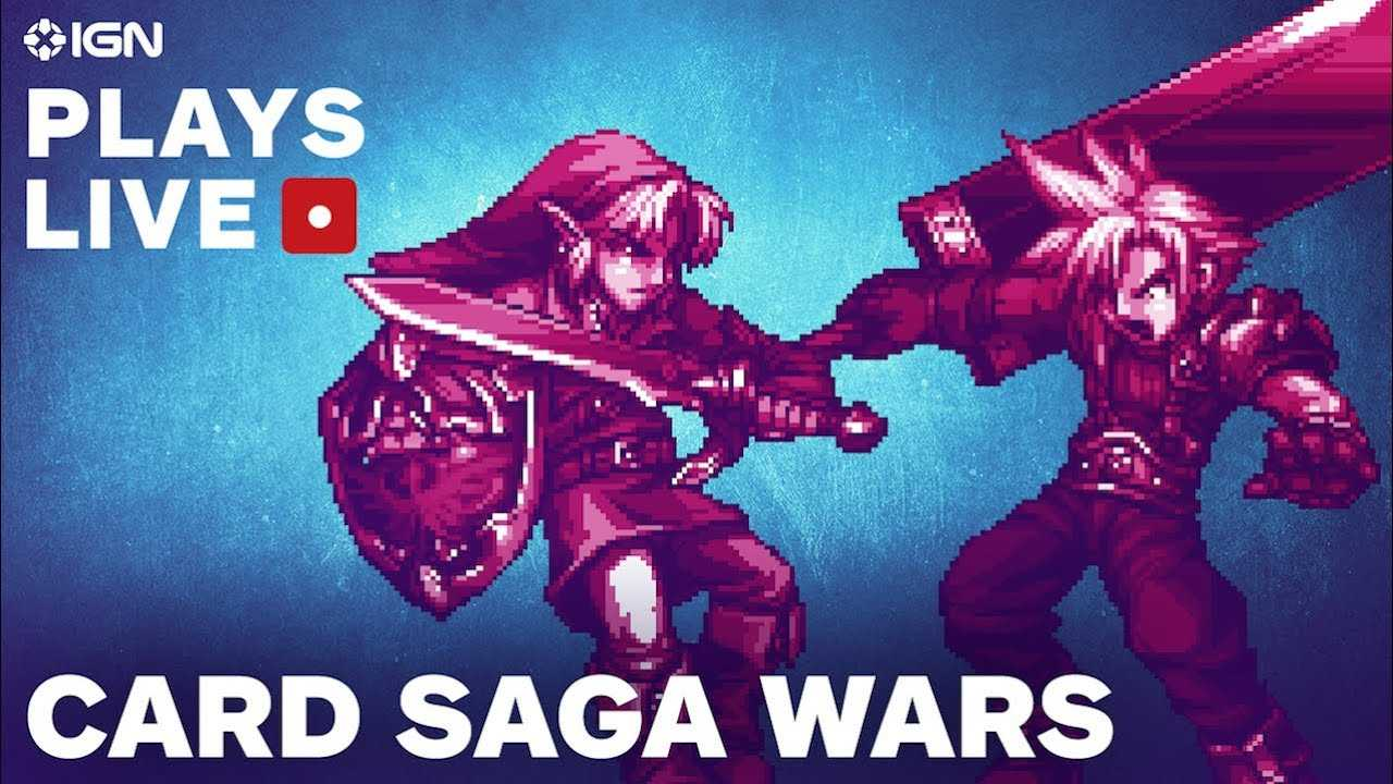 Master Chief vs. Samus and More in Card Sagas Wars - IGN Plays Live