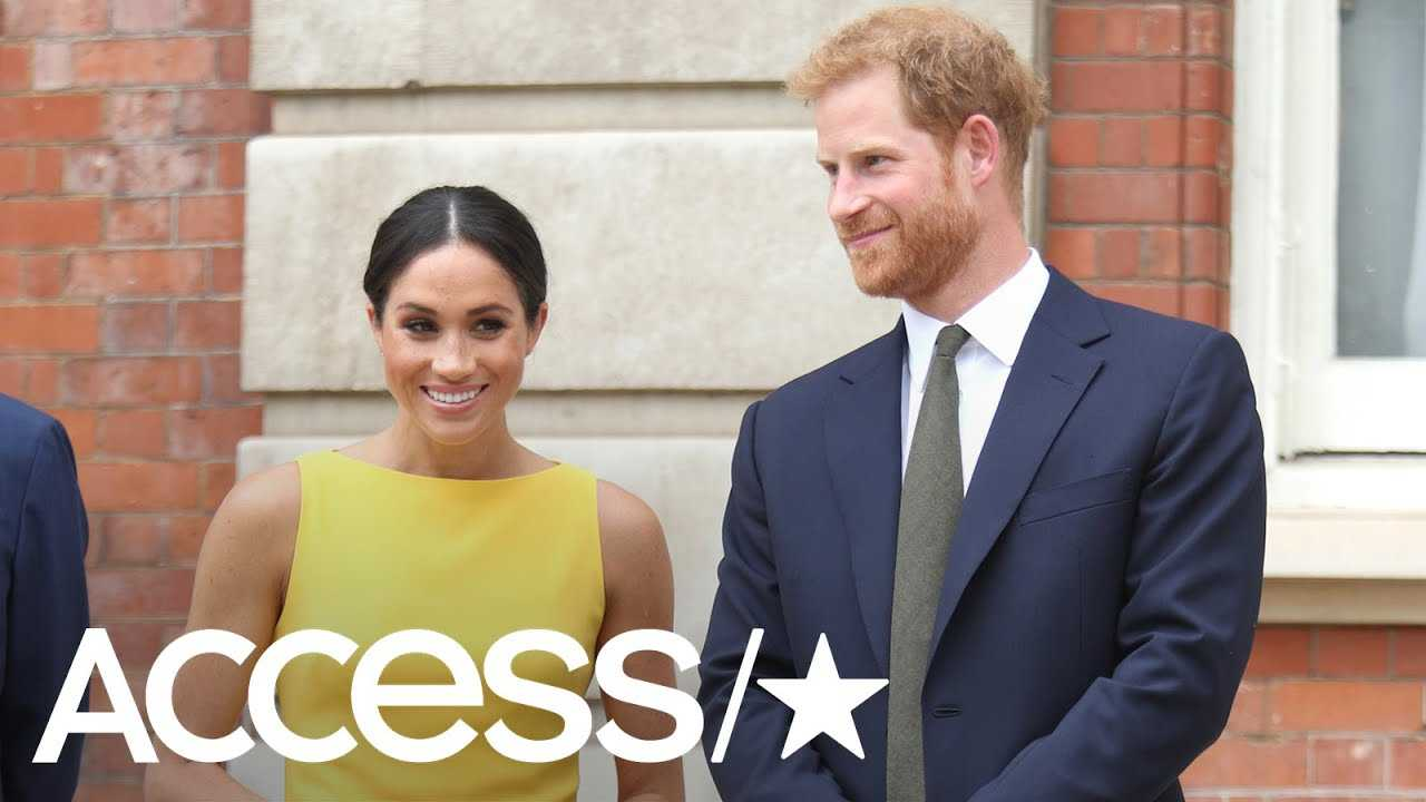 Meghan Markle Is A Vision In Yellow At Commonwealth Youth Reception In London | Access