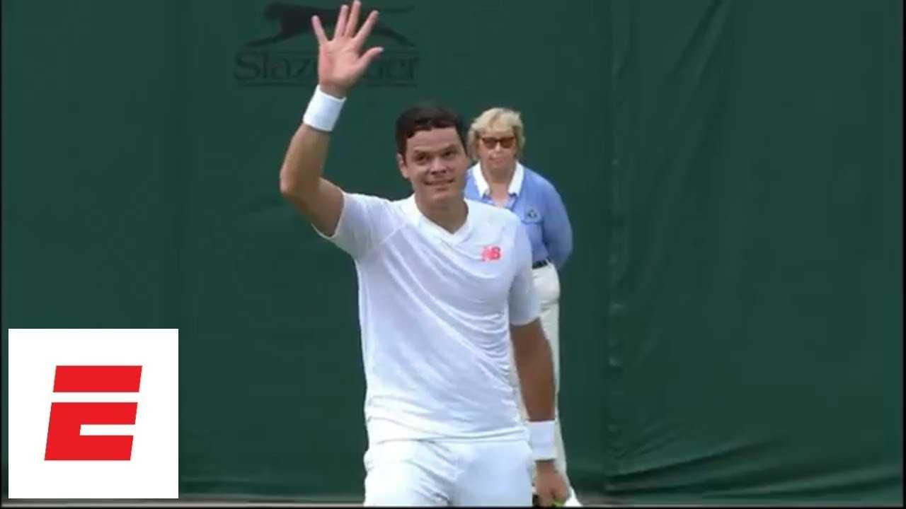 Milos Raonic beats John Millman to reach 3rd round of Wimbledon 2018 [Highlights, analysis ]   ESPN