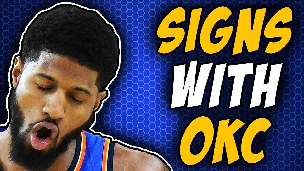 Paul George Is STAYING With The Thunder