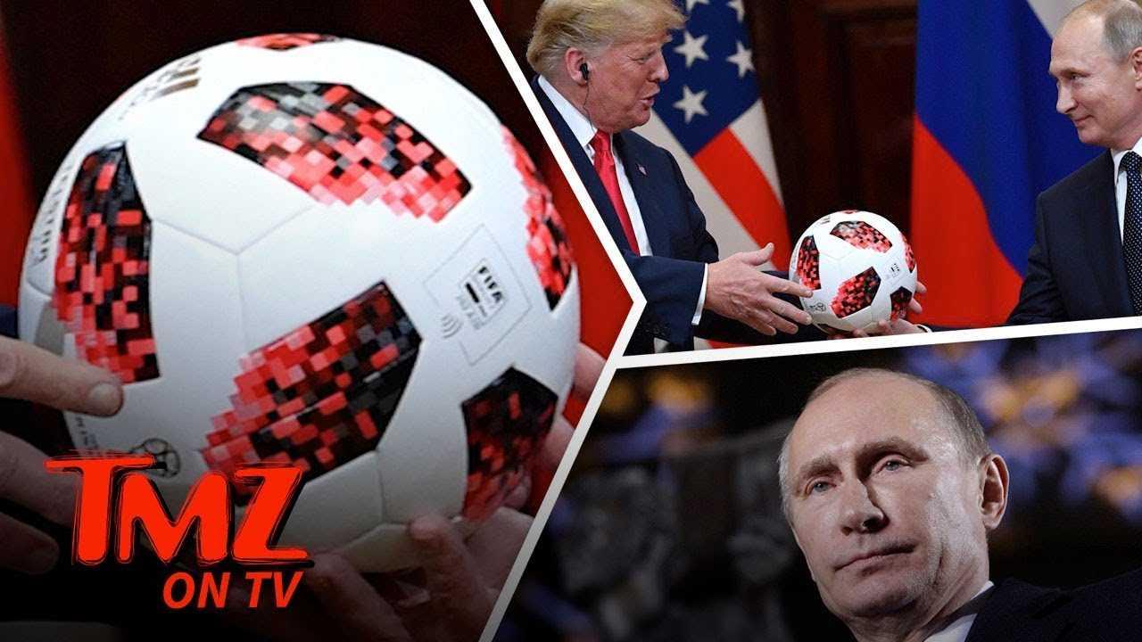 Putin Might Have Bugged Trump's Ball! | TMZ TV