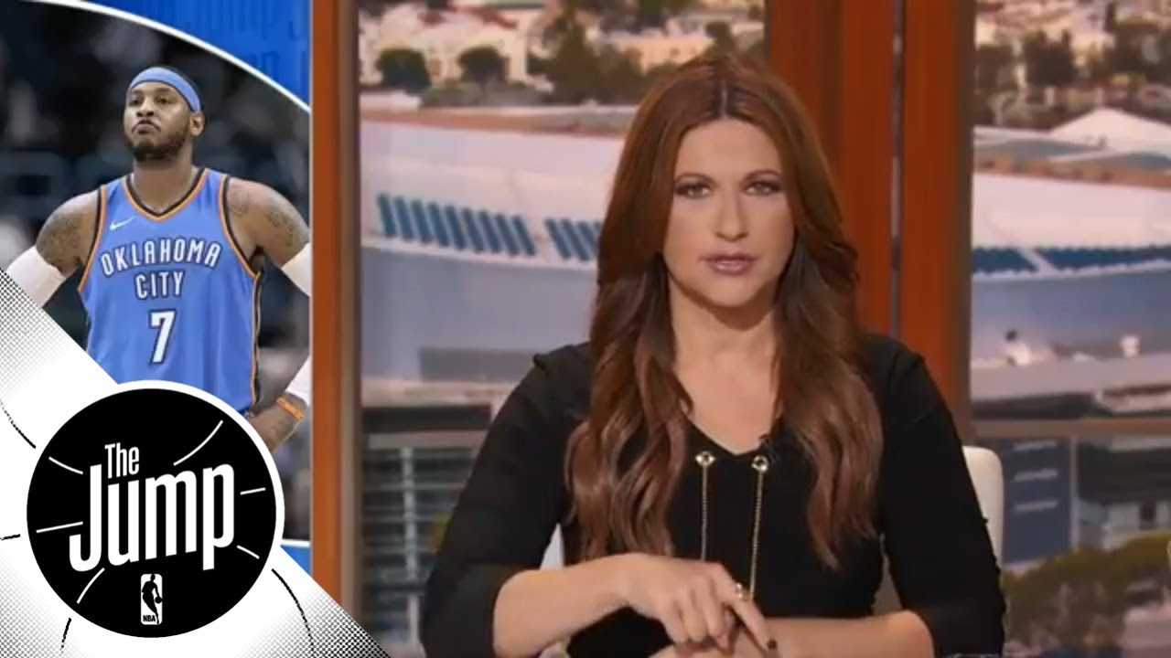 Rachel Nichols: Carmelo Anthony and Dwyane Wade should decide their own endings | The Jump | ESPN
