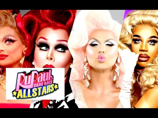 'RUPAUL'S DRAG RACE' ALL STARS 4 STARTS FILMING!- ALLEGEDLY CONFIRMED CAST!