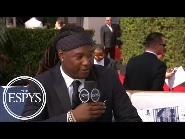 Shaquem Griffin on being co-ambassador for Special Olympics: 'emotional moment'   2018 ESPYS   ESPN