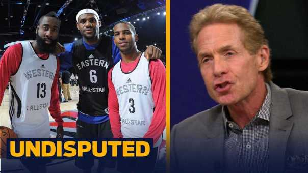 Skip and Shannon on reports Chris Paul is recruiting LeBron to come to Houston   NBA   UNDISPUTED