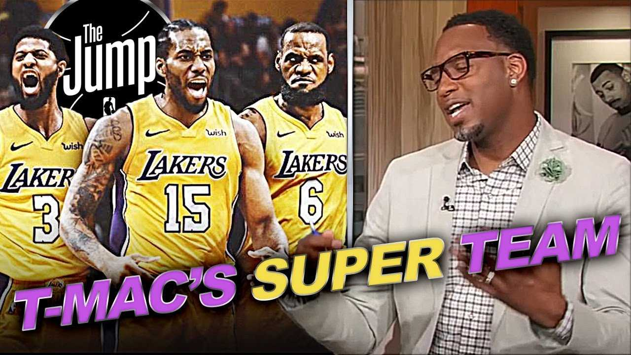 T-Mac Creating His Super Lakers Team Around LeBron To Knock Off Warriors | The Jump