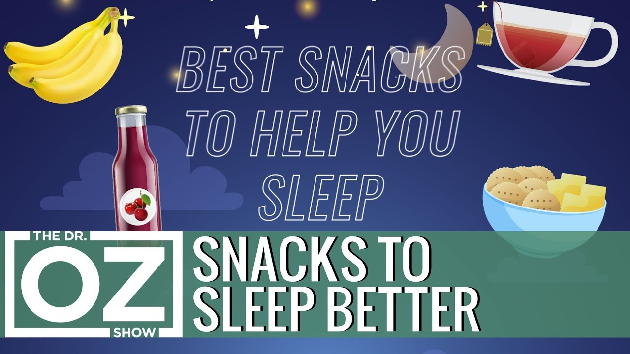 The 4 Best Snacks to Help You Sleep