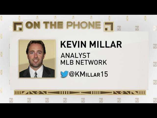 The Jim Rome Show: Kevin Millar talks Machado to Dodgers trade rumors