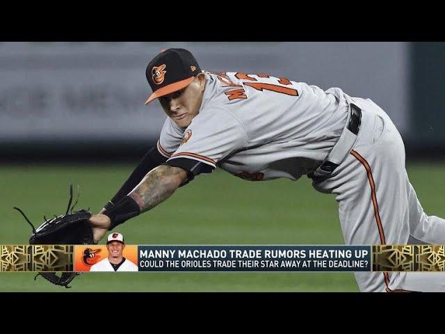 The Jim Rome Show: Manny Machado trade rumors heating up