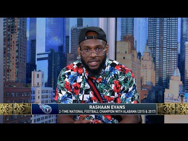 The Jim Rome Show: Rashaan Evans talks Nick Saban