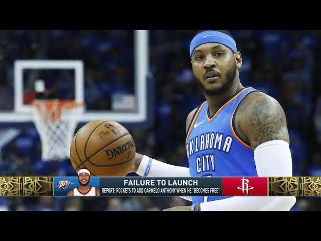 The Jim Rome Show: Rockets plan to add Carmelo Anthony