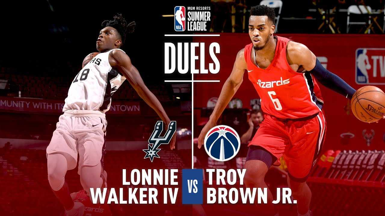 Troy Brown Jr. & Lonnie Walker IV Duel It Out In MGM Resorts Summer League Action