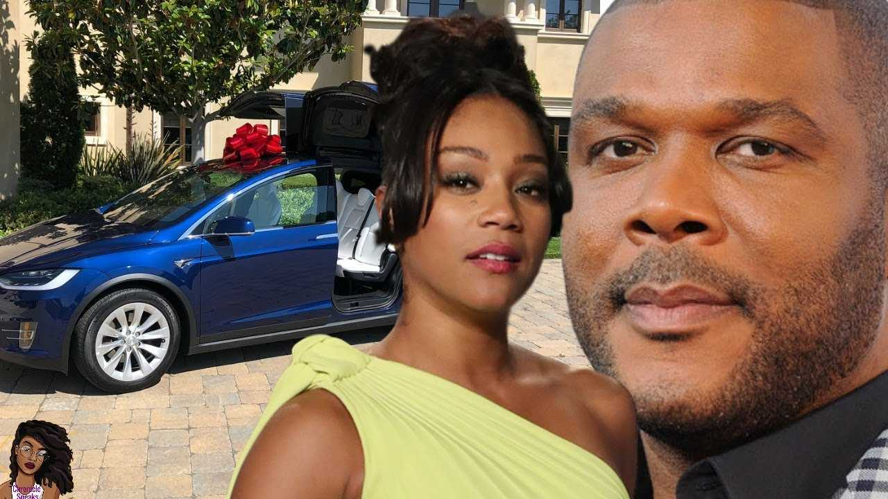 Tyler Perry Buys Tiffany Haddish A BRAND NEW TESLA! Monique Is Going To Be Upset!