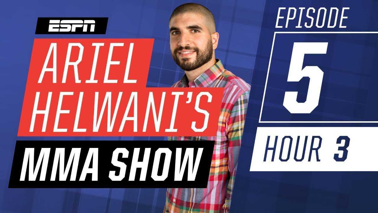 Tyron Woodley, Anderson Silva, Frankie Edgar [Episode 5/Hour 3]   Ariel Helwani's MMA Show   ESPN