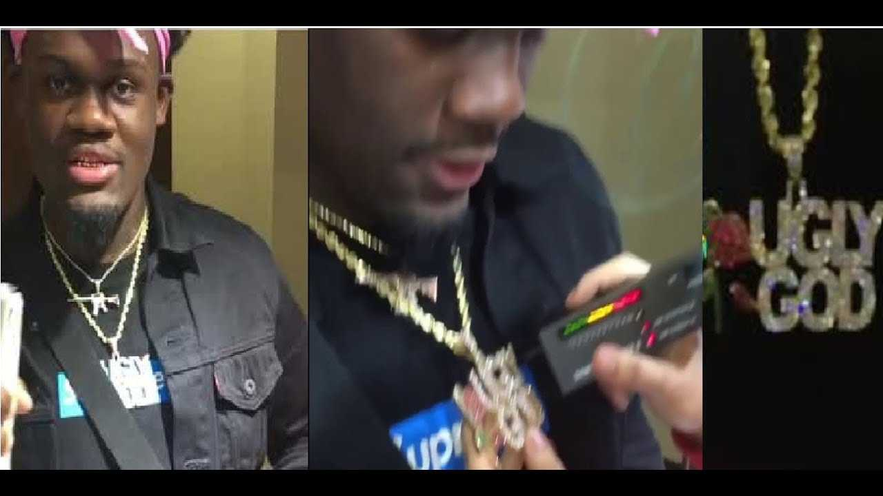 """Ugly God Clowns NY savages for trying to Take his Chain and Failing. """"TRY AGAIN A DIFF DAY'"""