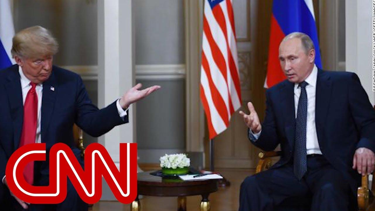 Watch Trump and Putin speak ahead of one-on-one meeting