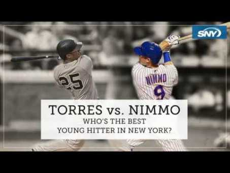 Who is the best young hitter in NY: Gleyber Torres or Brandon Nimmo?