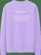 Sweetener Lavender Crewneck Shot 2