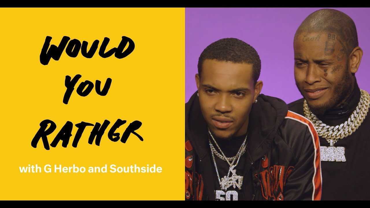 """""""Would You Rather"""" with G Herbo and Southside"""