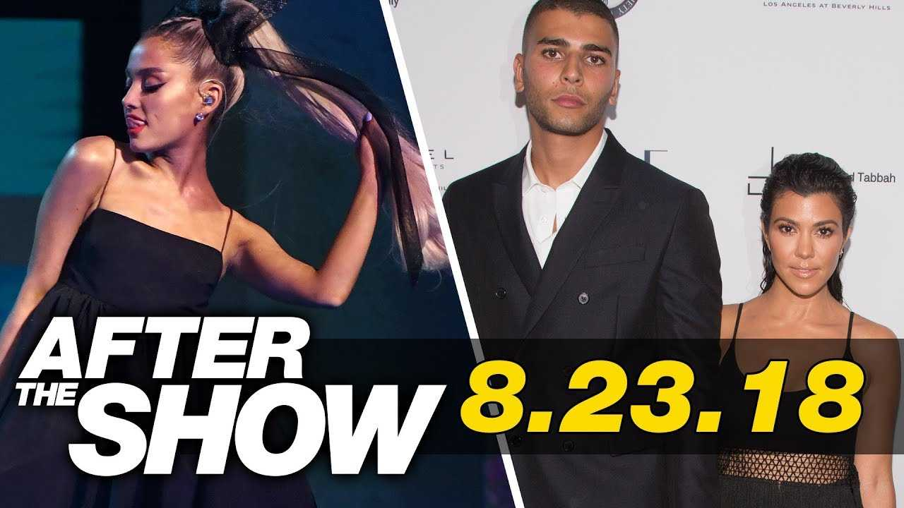 ariana grande Joining Nicki's Beef, Kourtney Kardashian's Ex Fights In Front of Drake & More