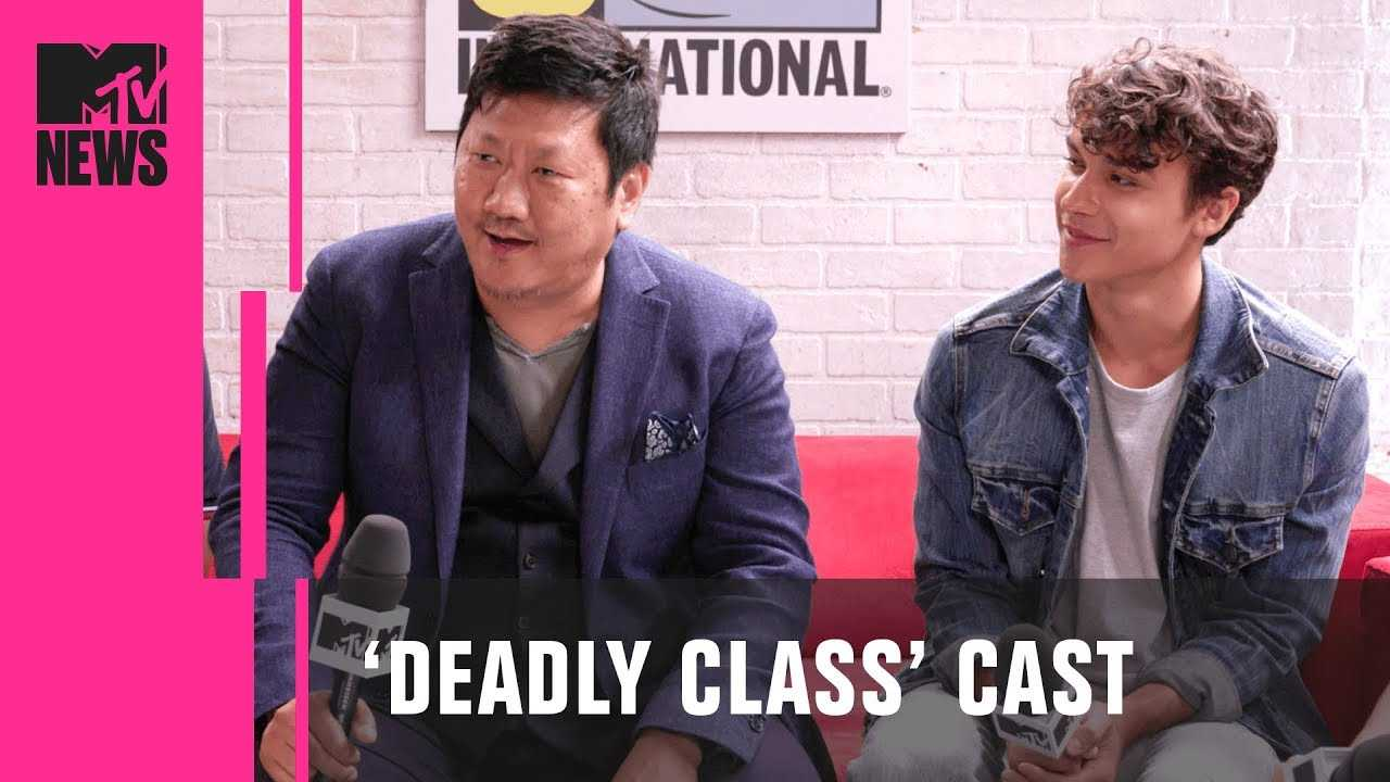 Benedict Wong & 'Deadly Class' Cast on Adapting the Graphic Novel | MTV News