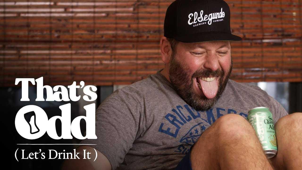 Bert Kreischer Does Beer Yoga | That's Odd, Let's Drink It
