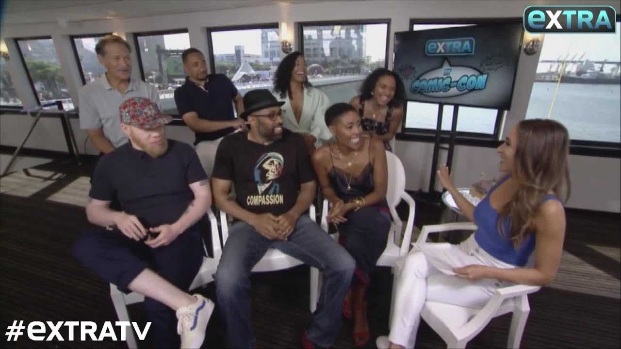 'Black Lightning' Cast Reveal New Season 2 Characters at SDCC 2018