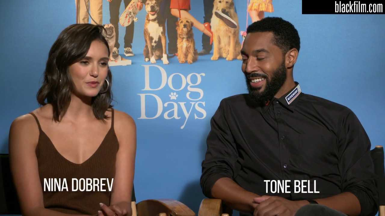 Blackfilm com interviews Nina Dobrev and Tone Bell on Dog Days