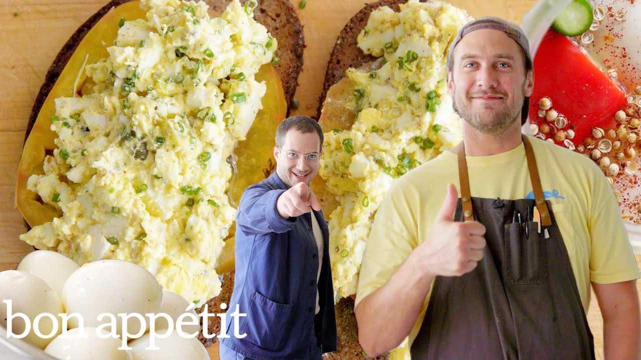 Brad Makes Pickled Fermented Eggs | It's Alive | Bon Appétit