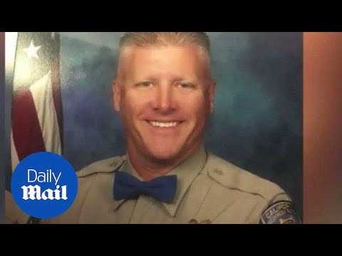 CA highway patrol officer and motorist killed during routine stop - Daily Mail