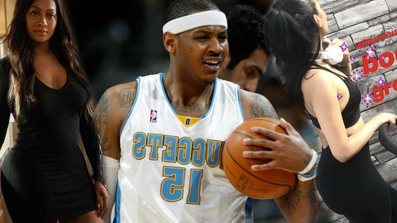 Carmelo Anthony BM is MAD Lala Anthony & she's being PETTY