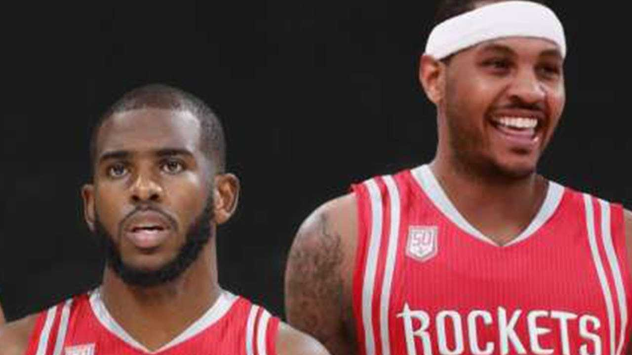 Chris Paul PUSHING Rockets To Sign Melo!