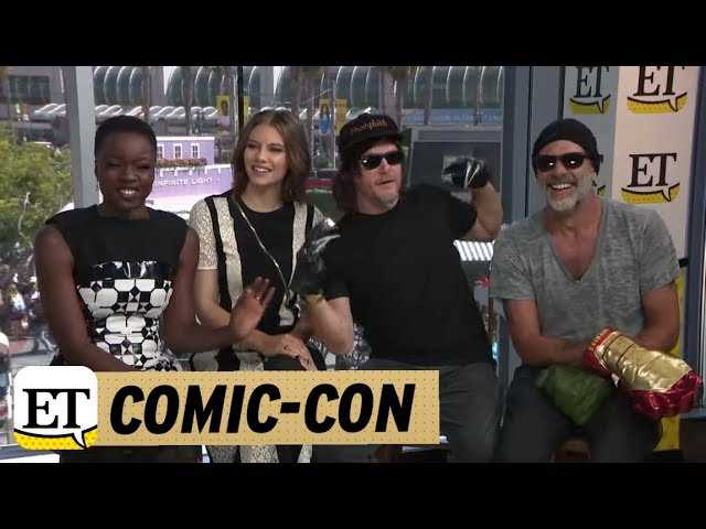 Comic-Con 2018: The Walking Dead: Norman Reedus Calls Andrew Lincoln His BFF