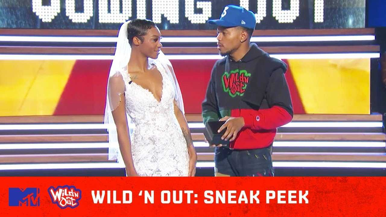 Chance the Rapper Is Ready To Propose on 'Wild 'N Out'   The Sneak Peek Show   MTV