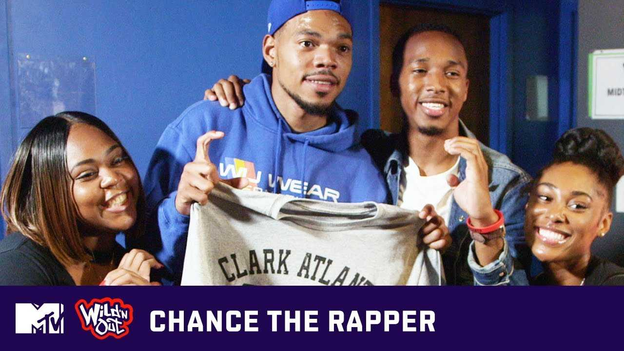 Chance the Rapper Surprises Clark Atlanta University Students | Wild 'N Out | MTV