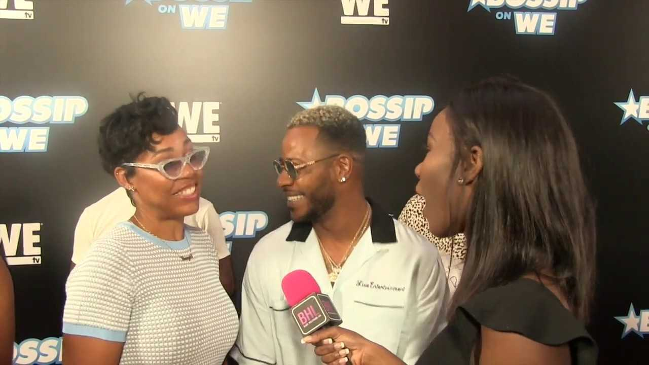 Eric Bellinger and wife La'Myia Good at Bossip's Best Dressed Event