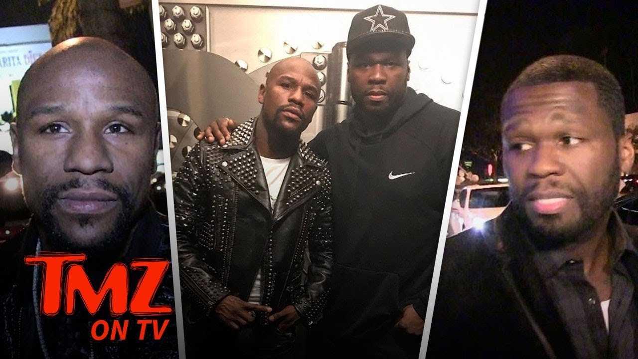Floyd Mayweather Goes Off on 50 Cent Again! | TMZ TV