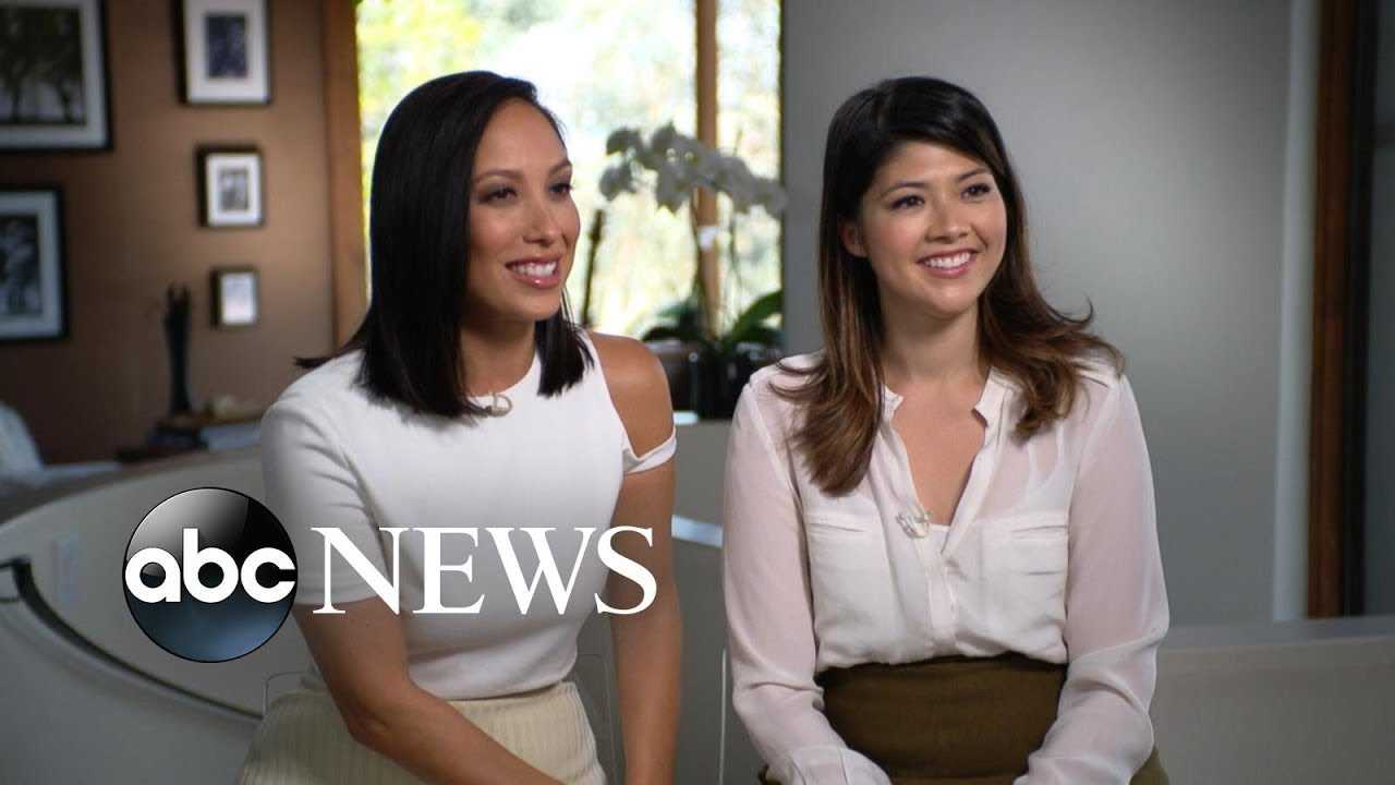 Former 'DWTS' pro Cheryl Burke reunites with her long-lost sister