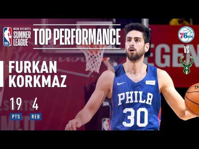Furkan Korkmaz Comes In Clutch For The Sixers In Crunch Time | 2018 MGM Resorts Summer League