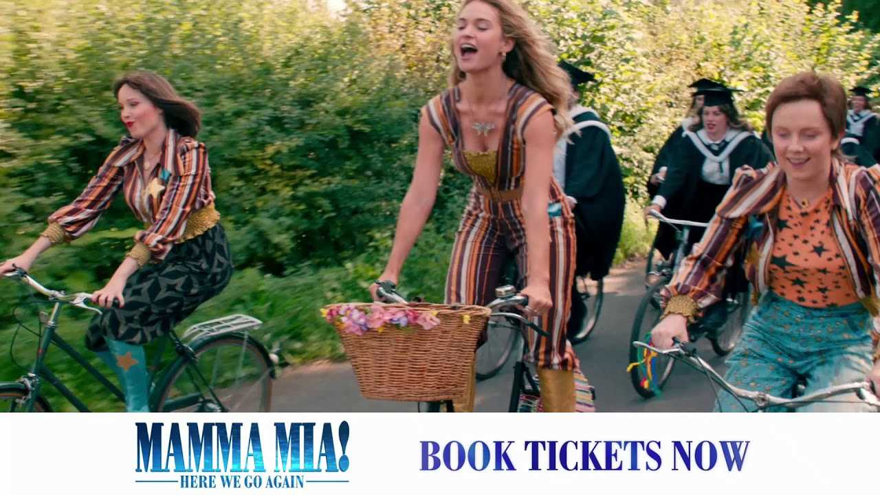 Get tickets to the best party of the year! #MammaMia2