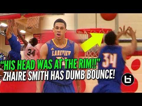 """""""HIS HEAD WAS AT THE RIM!!"""" 76ers Zhaire Smith Best Athlete in NBA Draft?"""