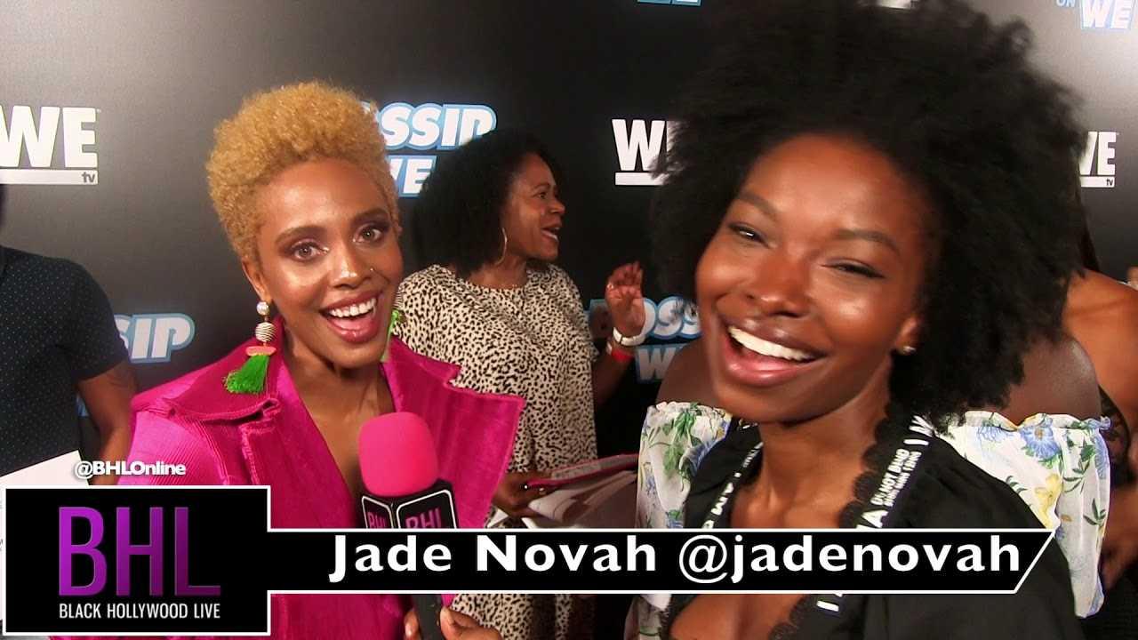 Jade Novah at WEtv's Bossip Best Dressed Event