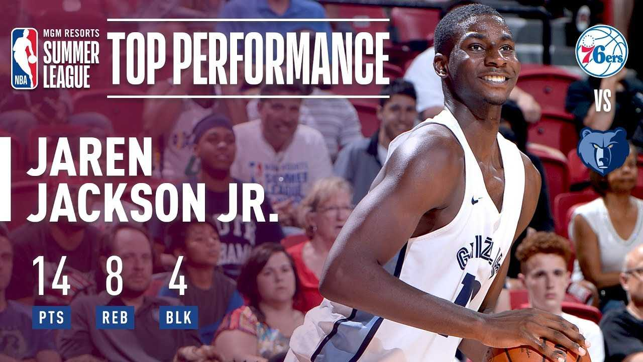 Jaren Jackson Jr. Helps Leads the Grizzlies To The Semi-Finals | 2018 MGM Resorts Summer League