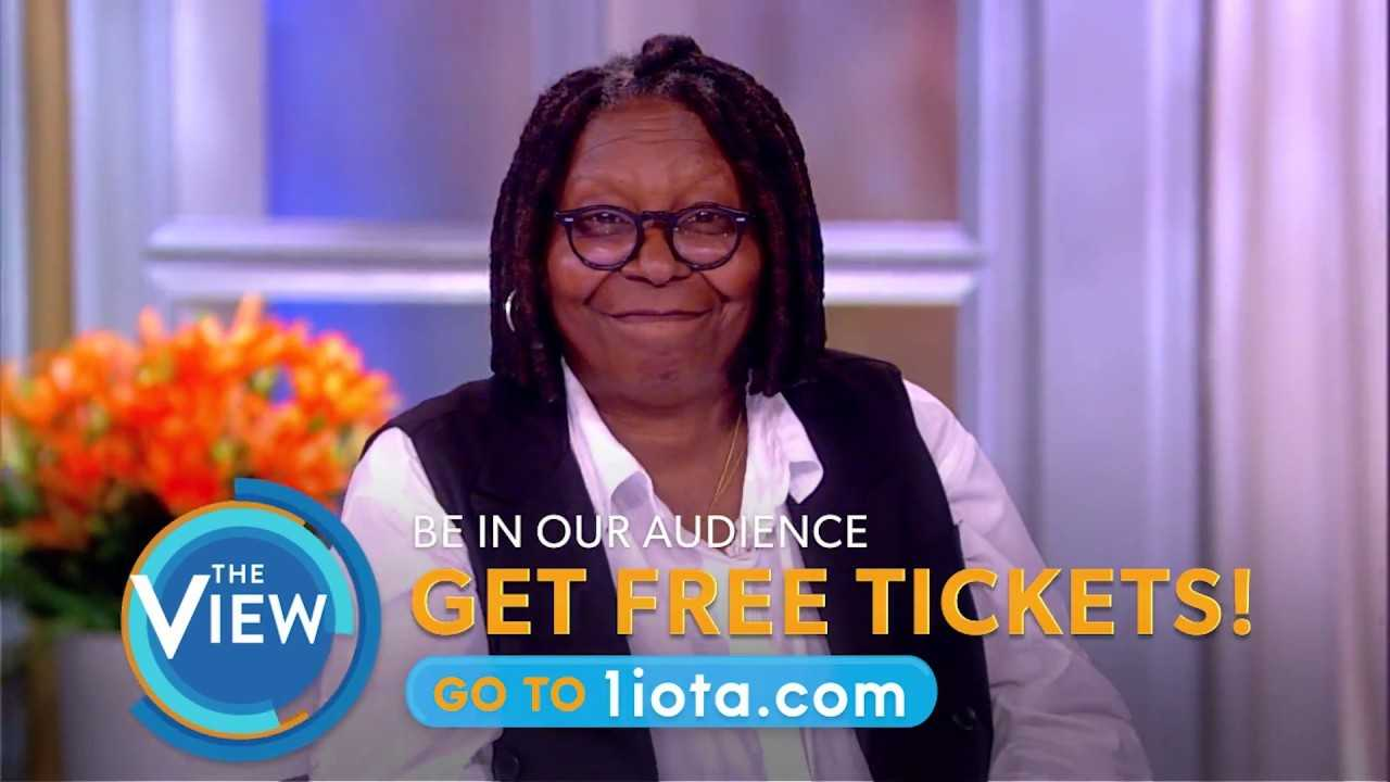 Join Our Live Studio Audience! | The View