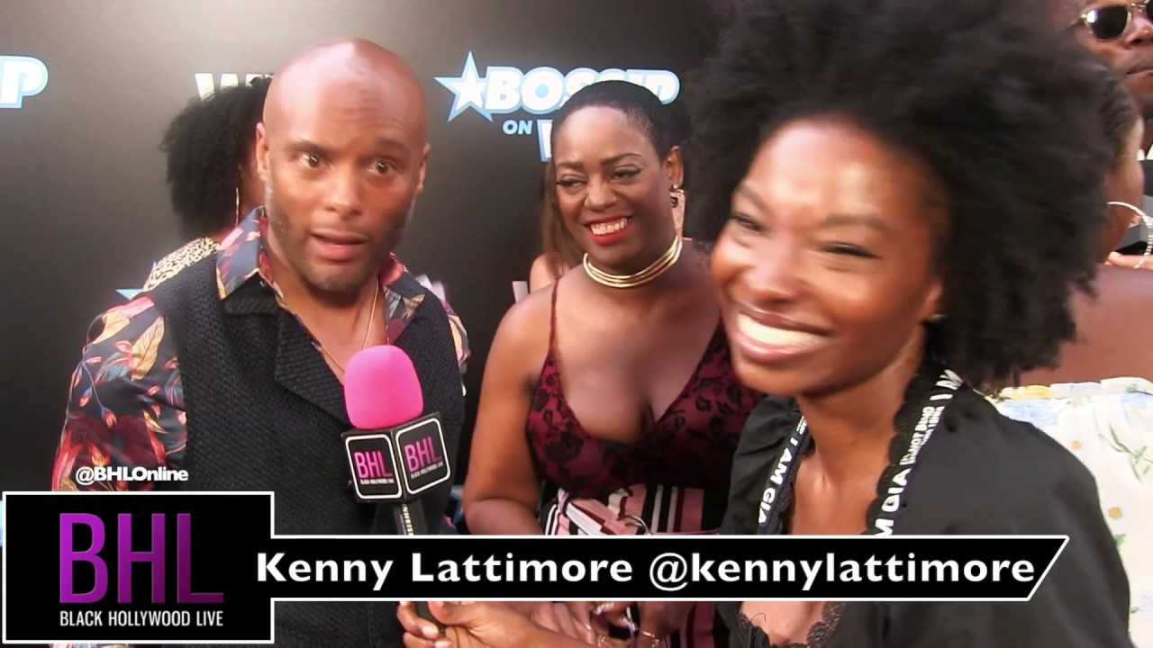 Kenny Lattimore at WEtv's Bossip Best Dressed Event