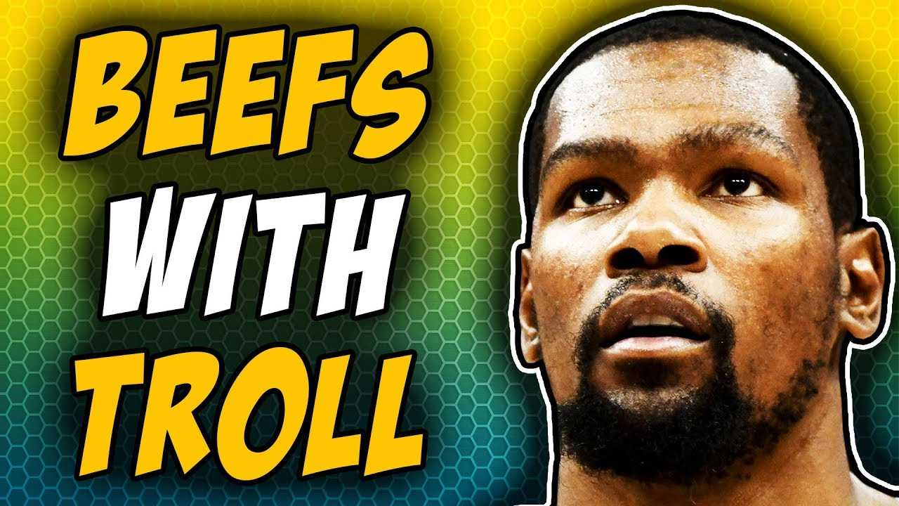 Kevin Durant Flips Out On Internet Troll