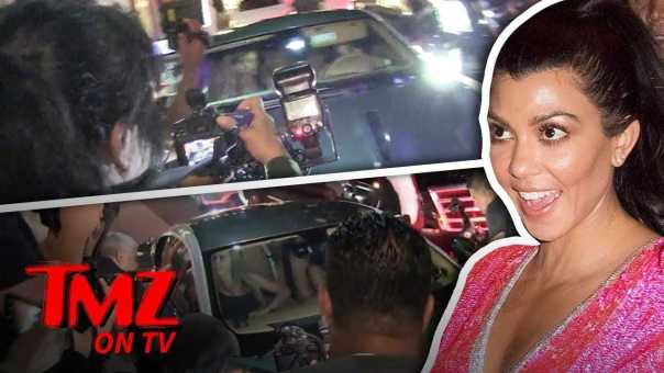 Kourtney Kardashian and Larsa Pippen Hit The Town and The Paparazzi? | TMZ TV