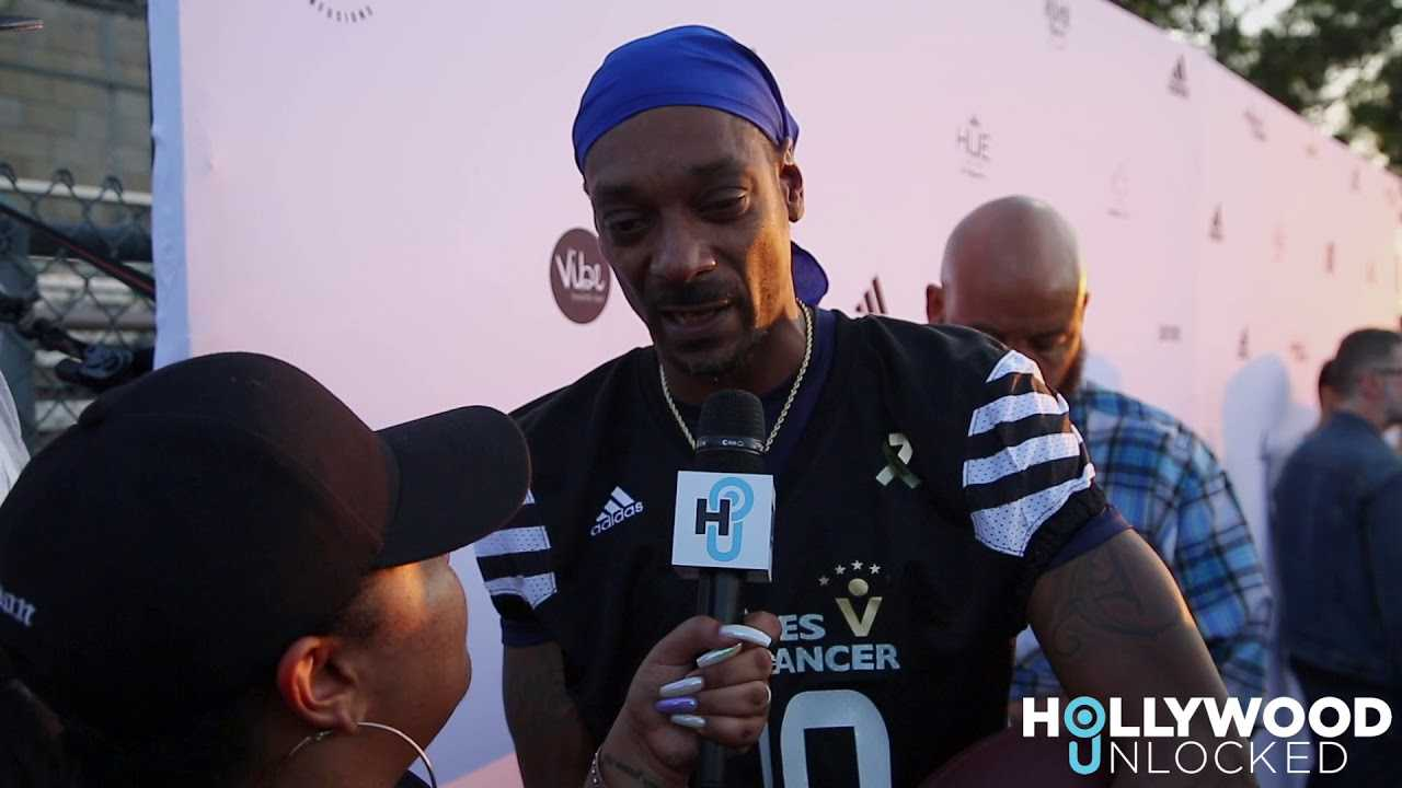 Matt Barnes & Snoop Dogg Host 5th Annual Athletes vs Cancer Celebrity Flag Football Game