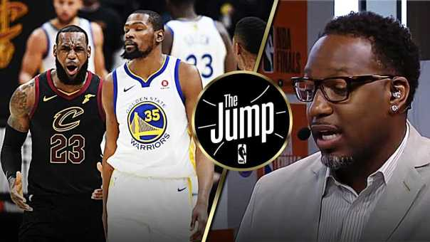 "McGrady On Durant's Dagger 3: ""LeBron was afraid to guard him."" 